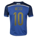 Argentina 2014 MESSI Youth Away Soccer Jersey
