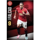 Manchester United Falcao Poster