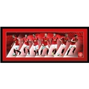 Manchester United 14/15 Players 30x12 Panoramic Poster