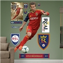 Real Salt Lake Beckerman Fathead Wall Decal