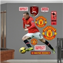 Manchester United Rooney Fathead Wall Decal