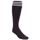 3 Stripe Padded Socks (Black/White)