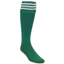 3 Stripe Padded Socks (Green/White)