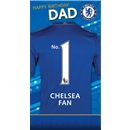Chelsea Happy Birthday Dad Card