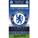 Chelsea No. 1 Fan Certificate Card