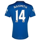 Everton 14/15 NAISMITH Home Soccer Jersey