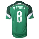 Mexico 2014 Marco Fabian Home Soccer Jersey
