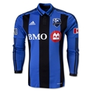 Montreal Impact 2013 Authentic LS Third Soccer Jersey