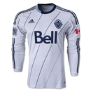 Vancouver Whitecaps 2013 Authentic LS Primary Soccer Jersey