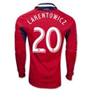 Chicago Fire 2013 LARENTOWICZ LS Authentic Primary Soccer Jersey