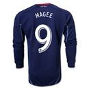 Chicago Fire 2014 MAGEE Authentic LS Secondary Soccer Jersey