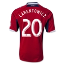 Chicago Fire 2013 LARENTOWICZ Authentic Primary Soccer Jersey