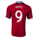Chicago Fire 2013 MAGEE Authentic Primary Soccer Jersey
