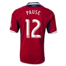 Chicago Fire 2013 PAUSE Authentic Primary Soccer Jersey