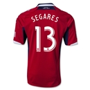 Chicago Fire 2013 SEGARES Authentic Primary Soccer Jersey