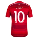 FC Dallas 2014 DIAZ Authentic Primary Soccer Jersey