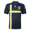 Sweden 2014 Away Soccer Jersey