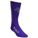 miraclefeet Crew Socks (Purple)