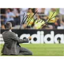 Jose Mourinho Signed Real Madrid Photo Kneeslide