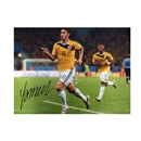 James Rodriguez Signed Colombia Photo Goal vs Uruguay
