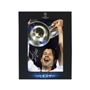 Official UEFA Champions League Luis Figo Signed Real Madrid Photo in Deluxe Packaging 2002 Final