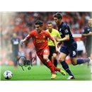 Philippe Coutinho Signed Liverpool vs Man United Photo