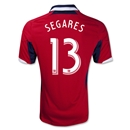 Chicago Fire 2013 SEGARES Primary Soccer Jersey