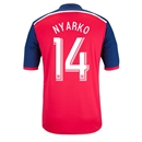 Chicago Fire 2014 NYARKO Primary Soccer Jersey