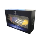 Official UEFA Champions League Messi Signed F5 Cleat in Deluxe Packaging