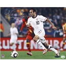Upper Deck Landon Donovan Autographed USA Play on Ball Photo