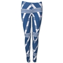 adidas Originals Native All Over Print Leggings (Navy/Gray)