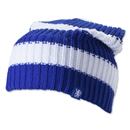 Chelsea Striped Oversized Beanie