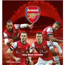 Arsenal 2014 Desk Calendar