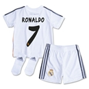 Real Madrid 13/14 RONALDO Home Baby Kit