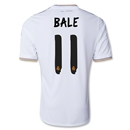 Real Madrid 13/14 BALE UCL Home Soccer Jersey