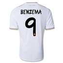 Real Madrid 13/14 BENZEMA UCL Home Soccer Jersey