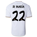 Real Madrid 13/14 DI MARIA UCL Home Soccer Jersey