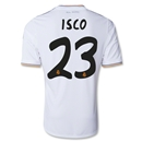 Real Madrid 13/14 ISCO UCL Home Soccer Jersey