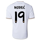 Real Madrid 13/14 MODRIC UCL Home Soccer Jersey