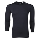 adidas Base TechFit Long Sleeve T-Shirt (Black)