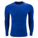 adidas Base TechFit Long Sleeve T-Shirt (Royal)