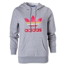 adidas Originals Women's Trefoil Hoody (Gray)