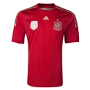 Spain 2014 Home Soccer Jersey