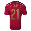 Spain 2014 LLORENTE Home Soccer Jersey