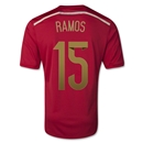 Spain 2014 RAMOS Home Soccer Jersey