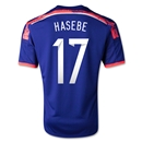 Japan 2014 HASEBE Home Soccer Jersey