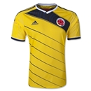 Colombia 2014 Authentic Home Soccer Jersey