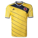 Colombia 2014 Home Soccer Jersey