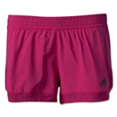 adidas TechFit 2-in-1 Woven Short (Pi/Bk)