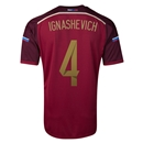 Russia 2014 IGNASHEVICH Home Soccer Jersey